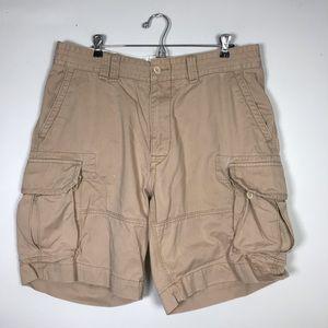 Polo Khaki Cargo Shorts